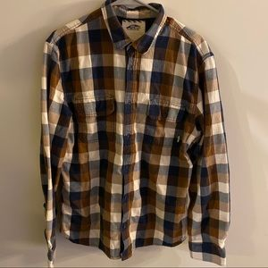 VANS OFF THE WALL BUTTON UP